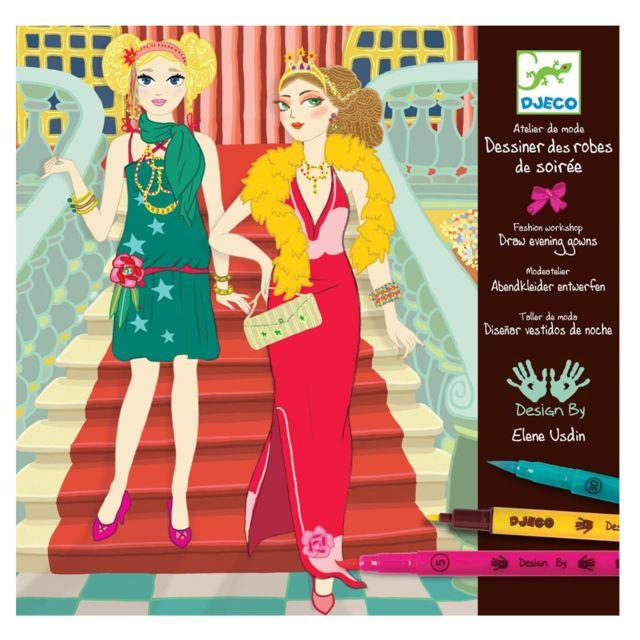 Djeco Atelier de mode Robes de soirées