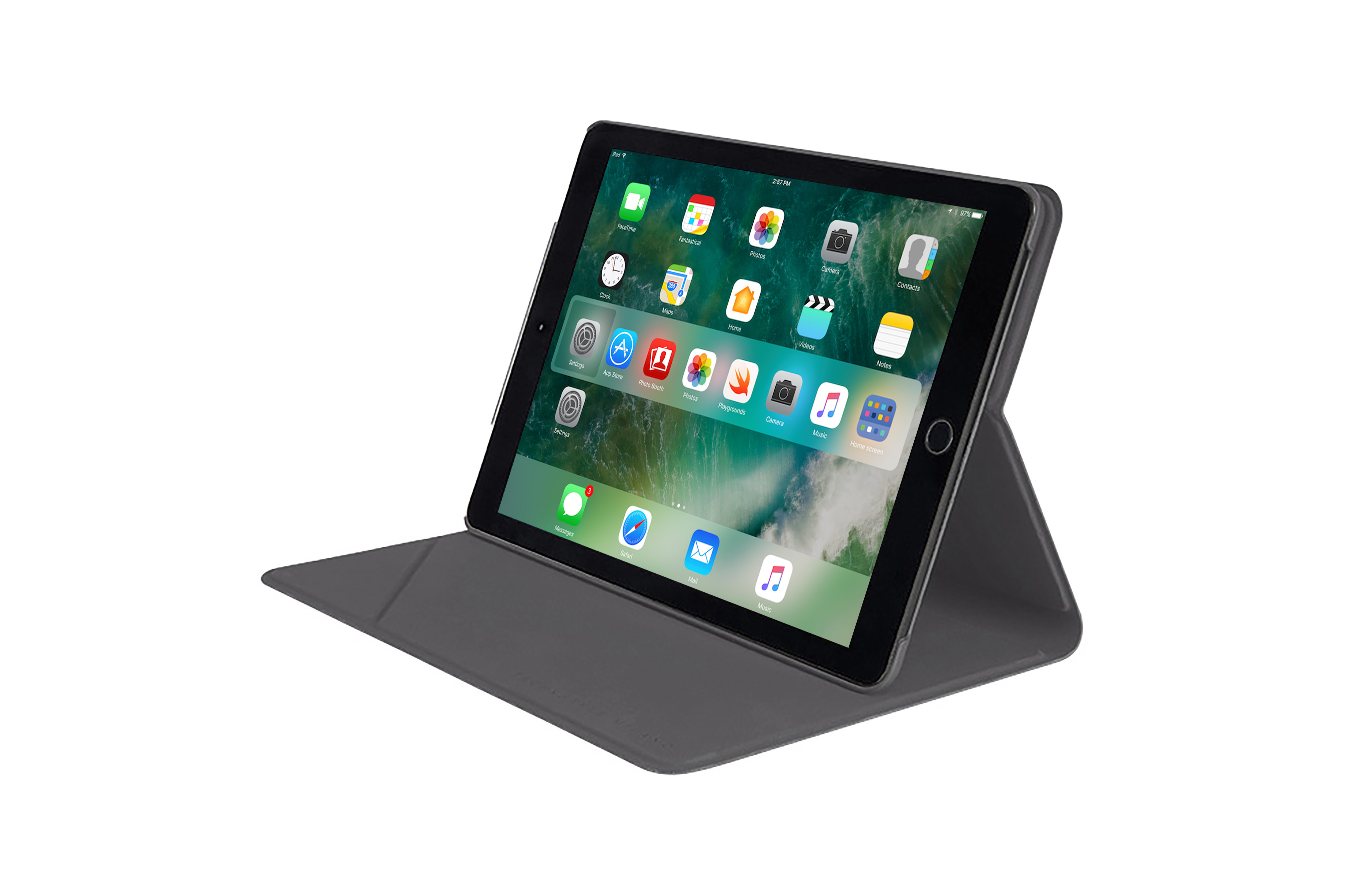 "Etui Minerale pour iPad 9,7"" Tucano Gris"