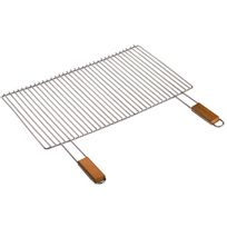 Cook'IN Garden - grille barbecue 2 poignées 60x40cm - gr001