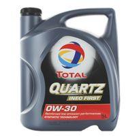 Total - Huile Moteur Quartz Ineo First 0W30 - Bidon de 5 L