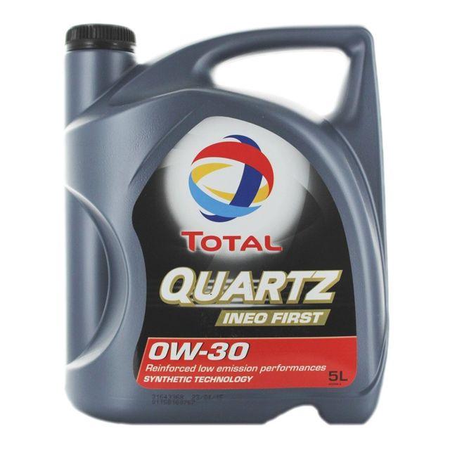 total huile moteur quartz ineo first 0w30 bidon de 5 l achat vente huiles moteurs 4t pas. Black Bedroom Furniture Sets. Home Design Ideas