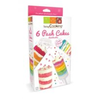 Scrapcooking - 6 Push cakes ronds