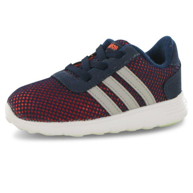 online store 3d35e 4c772 Adidas - Adidas Lite Racer bleu, baskets mode mixte