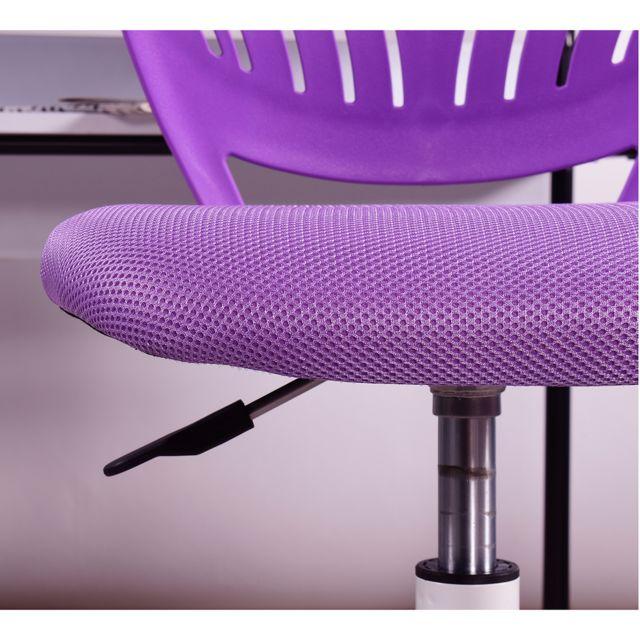 Mobilia Chaise de bureau enfant réglable roulettes
