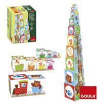 Goula - Cubes à empiler Forêt