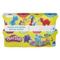 Play-doh - Loisirs Créatifs - Pâte à Modeler - 4 Pots + 4 Pots Gratuits 896g
