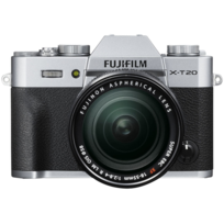 FUJIFILM - Appareil photo hybride Silver - X-T20 18-55