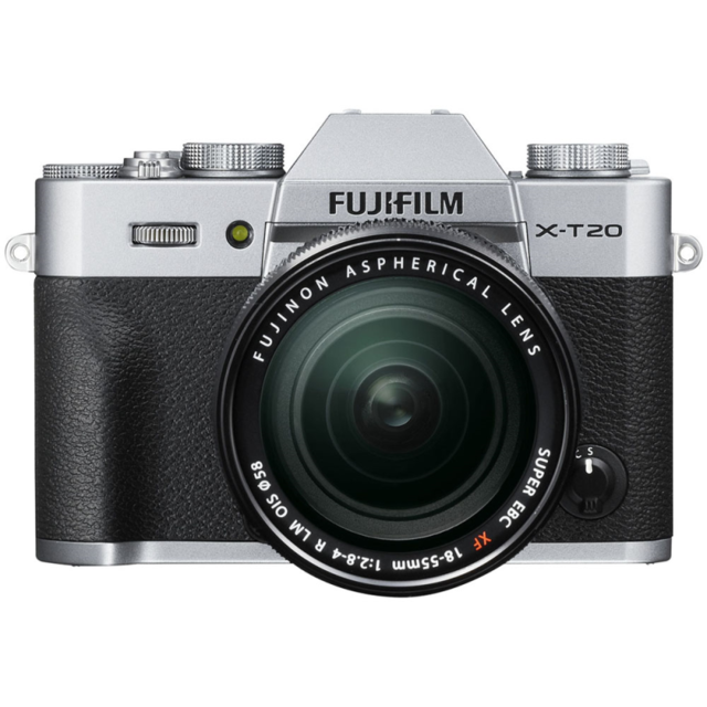 FUJIFILM Appareil photo hybride Silver - X-T20 18-55