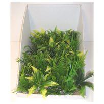 Labeo - Décoration Plante en Plastique Récif Vert - Pm