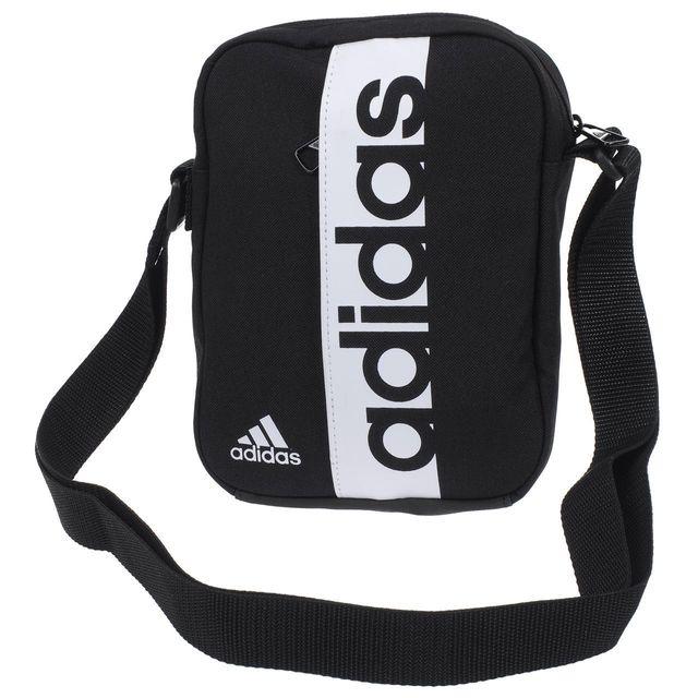 e733bc5027 Adidas - Sacoche pochette bandouliére Lin per org black/white Noir 58192 -  pas cher Achat / Vente Besaces et bandoulières - RueDuCommerce