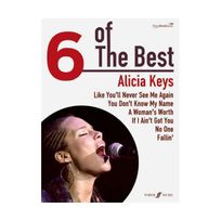 Marque Generique - Alicia Keys 6 of the best - chant + piano + accords guitare
