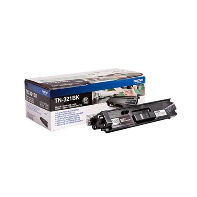 BROTHER Toner TN-321BK - Noir TN321BK, Toner d'origine Noir pour imprimantes MFC-L8900CDW, HL-L8250DN, HL-L8350CDW, DCP-L8400CDN, DCP-L8450CDW, MFC-L8650CDW, MFC-L8850CDW