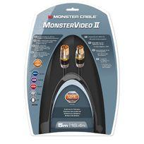 Monster - Câble d'antenne PAL Coaxial Performance MV2A double blindage - 5m