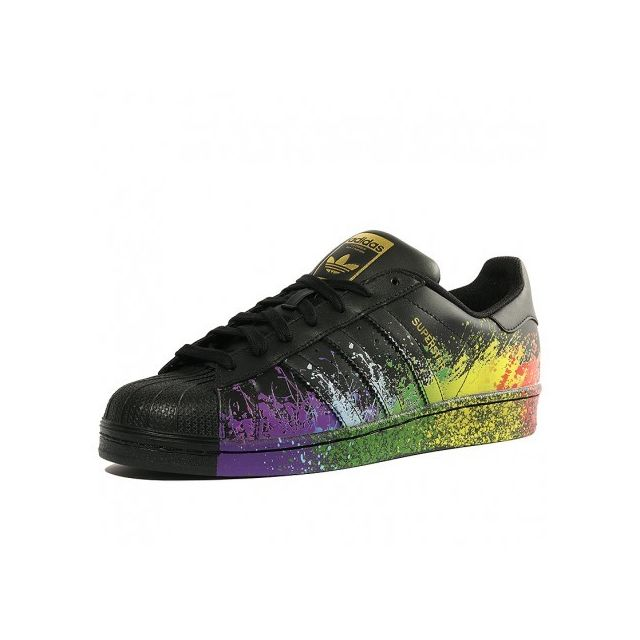 Adidas originals - Chaussures Superstar Noir Homme Adidas 44 2/3 - pas cher Achat / Vente Baskets homme - RueDuCommerce