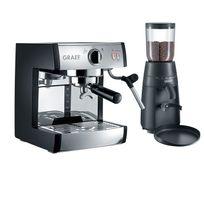 Graef - Machine expresso Pivalla Es702 et broyeur à café Cm702