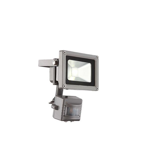 GLOBO Projecteur extérieur aluminium fonte gris - 34107S Projecteur extérieur aluminium fonte gris, verre translucide.