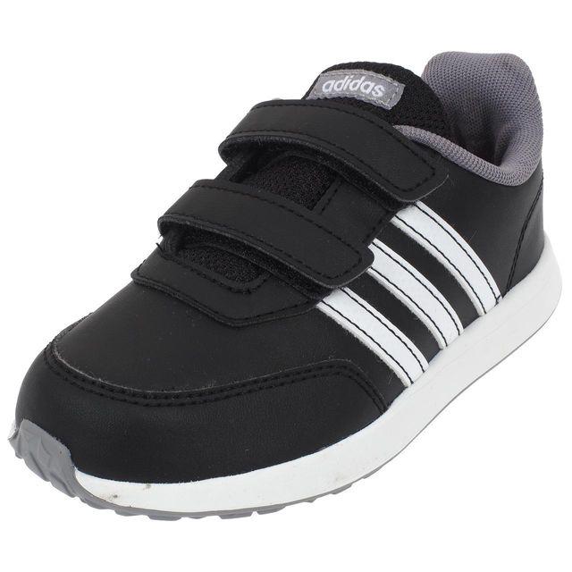 Adidas Neo - Chaussures scratch Vs switch 2 scratch nr Noir 74928 19 - pas cher Achat / Vente Baskets enfant - RueDuCommerce