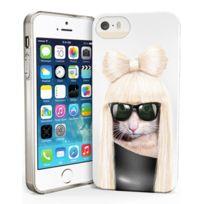 Pets Rock - Coque souple pour iPhone 5s motif chat Lady