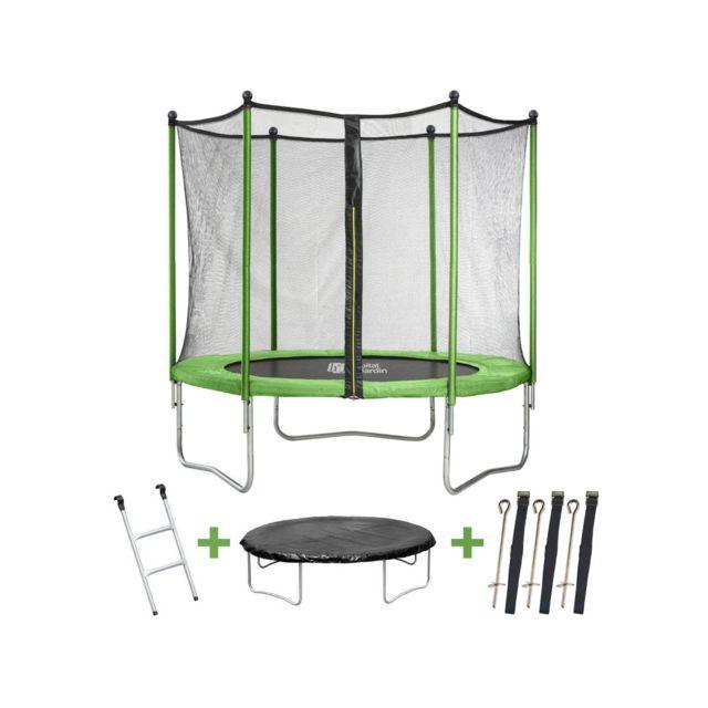 habitat et jardin trampoline yoopi m avec. Black Bedroom Furniture Sets. Home Design Ideas