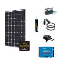 Myshop-solaire - Kit solaire 280w - 12 ou 24v camping-car/bateau anti-chocs