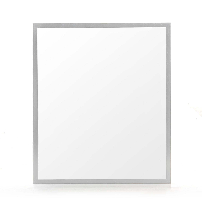 alin a reflet miroir rectangulaire encadr de salle de bains 70cm pas cher achat vente. Black Bedroom Furniture Sets. Home Design Ideas