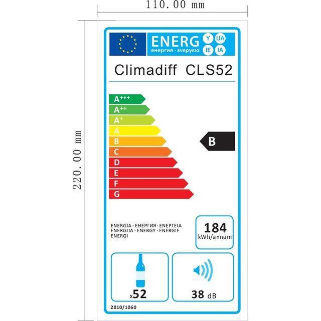 CLIMADIFF - Cave à vin de service - CLS52