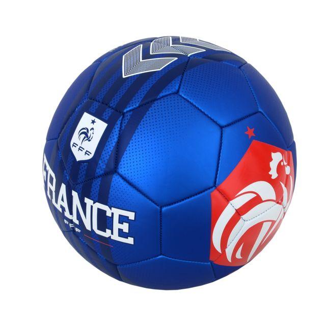 Ballon de football T5 Jersey Bleu