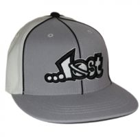 Lost enterprises - Casquette flexfit Lost Layup grey S-m