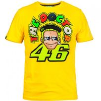 Vr 46 - T-shirt Yellow Face Vr46