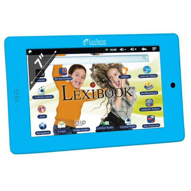 Lexibook - Tablet Master - Tablette Tactile 7'' Résistif - 4 Go - Wi-Fi - Android 4.0