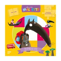 Editions Auzou - Puzzles 2x16 pièces + Livre : le Loup qui voulait faire le tour du monde