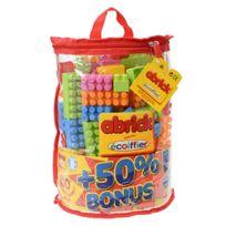Ecoiffier - Sac demi lune 100 briques ABRICKS + 50 gratuites