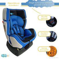 Bebe Lol - Siège auto évolutif Bébélol® pour enfant groupe 0+/1/2 normes Ece R44/04 - bleu