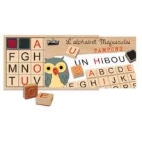 "Crea Lign' - coffret 26 tampons ""alphabet majuscule"