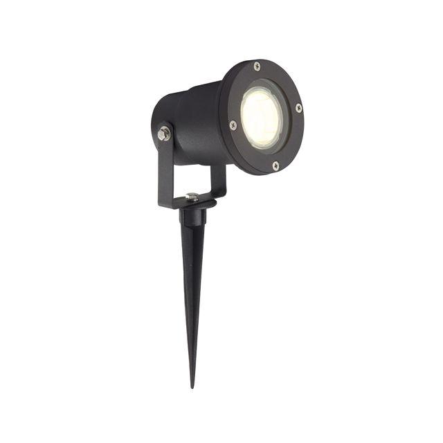 BRILLIANT Lampe exterieur à piquer LED noir Janko G96232/06