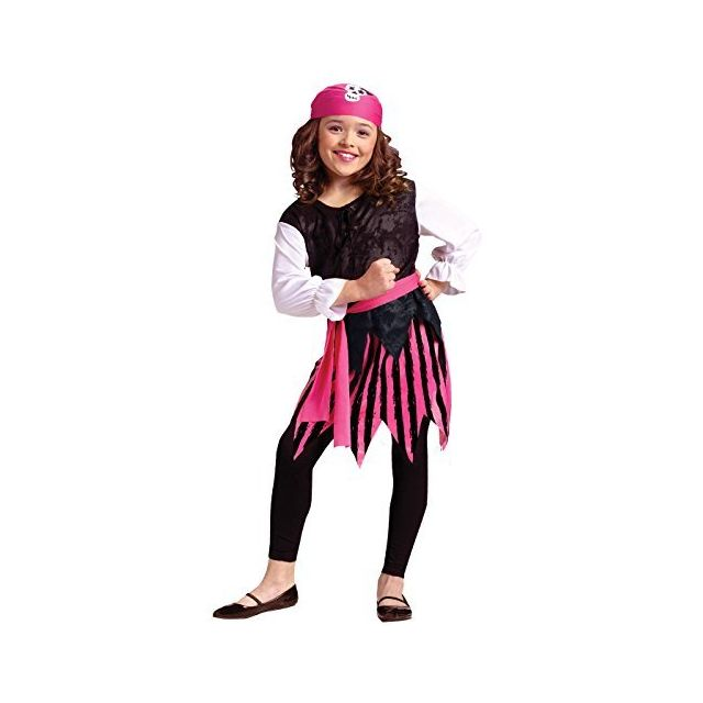 Fun World Carribean Pirate Girl Costume Large 12 - 14 Multicolor