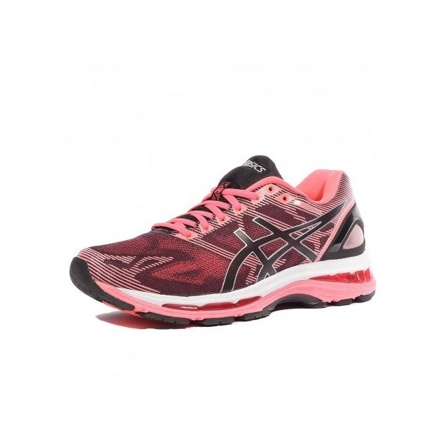 asics gel nimbus 19 femme chaussures running rose pas cher achat vente chaussures running. Black Bedroom Furniture Sets. Home Design Ideas