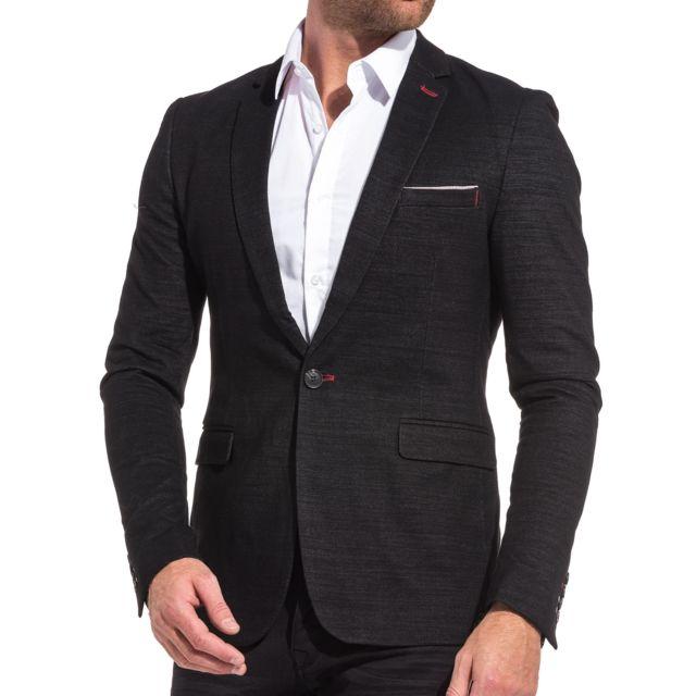 Veste Costume Denim Homme Robe 224 La Mode 2019