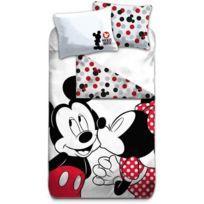Mickey Et Kiss Parure De Lit Enfant Housse De Couette Coton