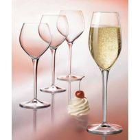 Luigi Bormioli - Flûte à champagne 22cl - Lot de 6 - Ametista
