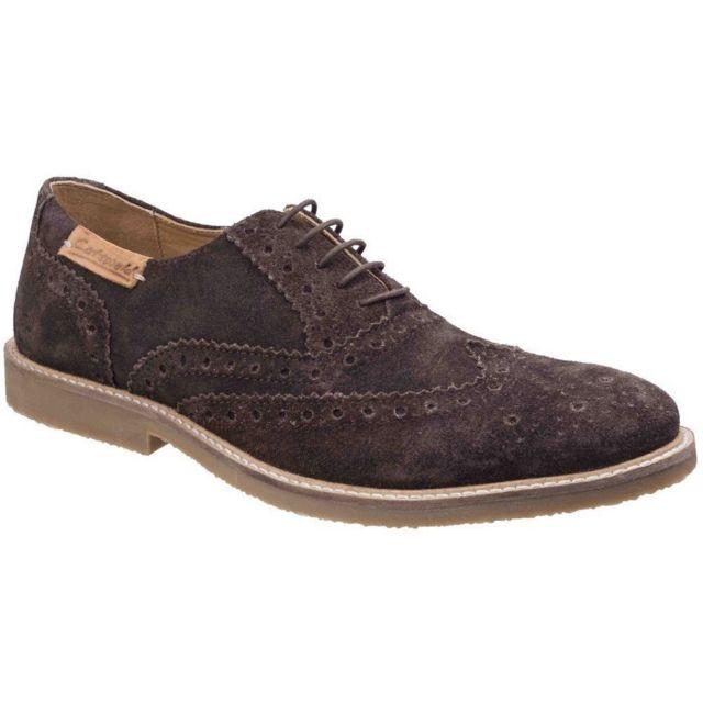 Generic Cotswold - Chaussures derbis Chatsworth - Hommes 42, Marron Utfs5157