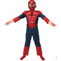 Spider-Man - Déguisement Enfant Spiderman Ultimate - Taille : 3-4 ans 94 à 108 cm