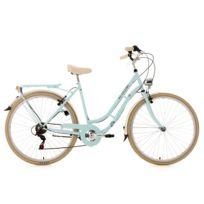 KS CYCLING - Vélo de ville femme 28'' Casino bleu TC 53 cm 6V