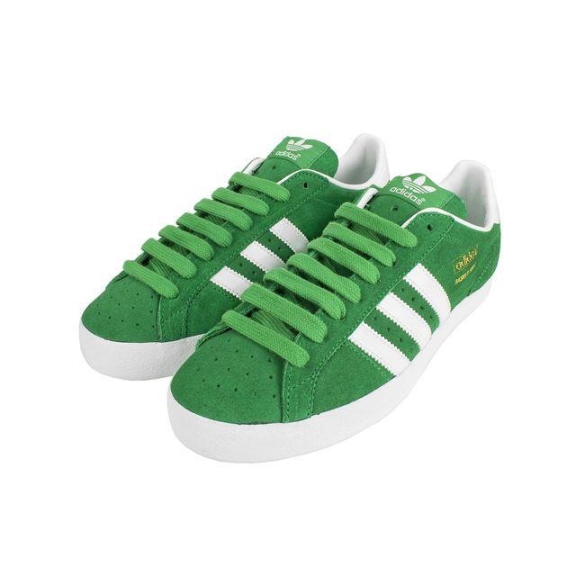 baa4ef02200fe Adidas - Originals-BASKET Profi Lo Vert-Blanc Q35432 - pas cher Achat    Vente Baskets homme - RueDuCommerce