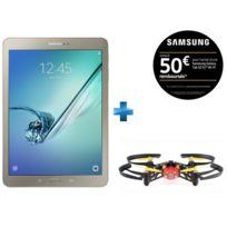Samsung - Galaxy Tab S2 - 9,7'' - 32 Go - Or + Minidrone Parrot avec lumières