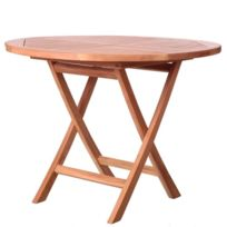 Table ronde pliante jardin - catalogue 2019 - [RueDuCommerce ...