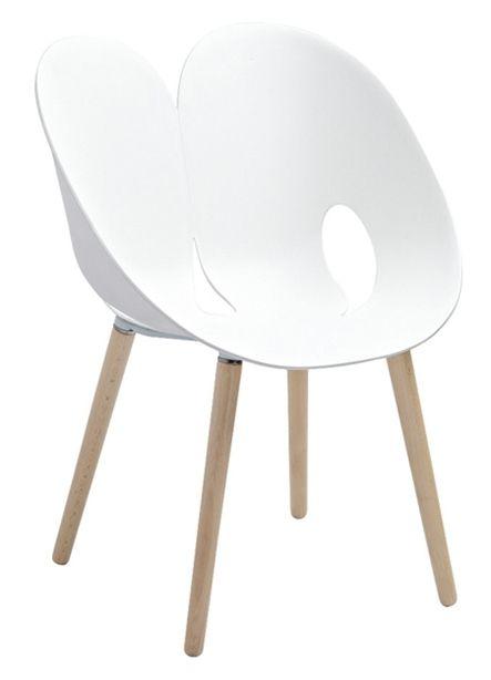 Lebrun Chaise blanche Coco Fesse