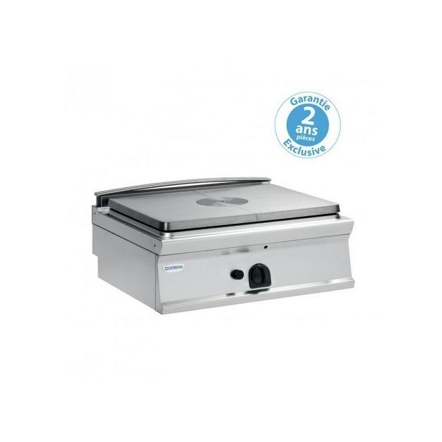 Materiel Chr Pro Plaque coup de feu à poser - gamme 700 - 9 kW - Tecnoinox - 700