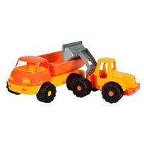 Androni - Spielzeug Lkw Kipper Und Bagger 2 StÜCK Sandspielfahrzeug