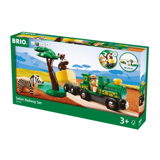BRIO Circuit Safari - 33720